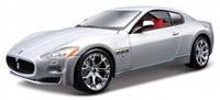 Авто-конструктор - MASERATI GRAN TURISMO (серебристый металлик, 1:24) от Bburago - под заказ