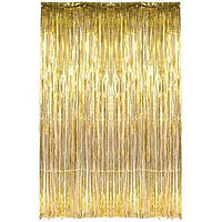 Гирлянда Дождик золото 1х2.5 м