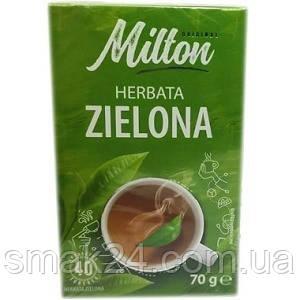 Чай зеленый  классический Milton   Польша (40 пакет) 70г