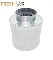Fresh Air 100\180 (160-240м3). Фильтр угольный для гроубокса,вентиляции