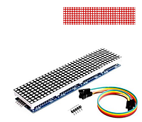 Матричный модуль MAX7219  8x8x4, красный