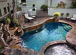 Невероятный бассейн с Фонтаном и Водопадом у вас во дворе., фото 5