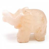 Слон резной из соли (Гималайская соль)