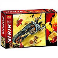 """Конструктор Bela11327 (Аналог Lego Ninjago 70672) """"Раллийный мотоцикл Коула"""" 230 деталей, фото 1"""