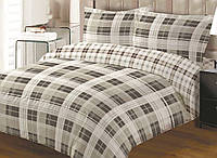 Полуторный постельный комплект 328 TARTAN 70х70, ТЕП