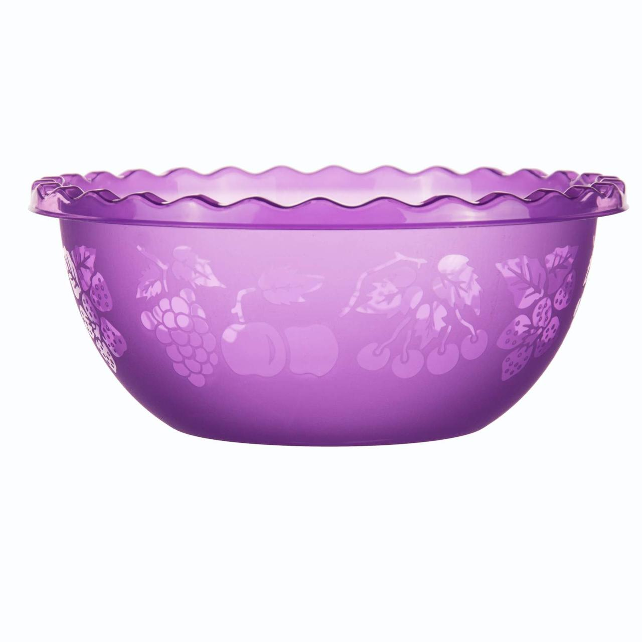 Таз для фруктов 3.5л Фиолетовый