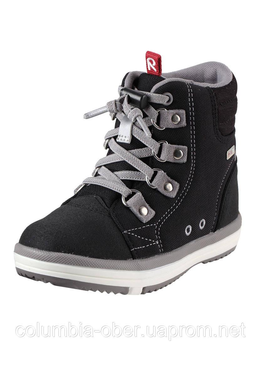 Демисезонные ботинки для мальчика Reimatec Wetter Wash 569343-999A. Размеры 33 - 37.