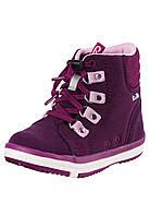 Демисезонные ботинки для девочки Reimatec Wetter Wash 569343-4960. Размеры 26 - 38.