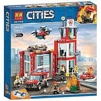 """Конструктор Bela 11215 (Аналог Lego City 60215) """"Пожарное депо""""533 детали, фото 1"""