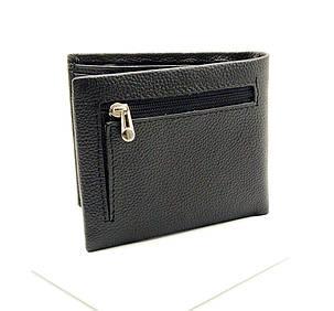 Мужской кожаный кошелек Cardinal 12,5 x 10 x 2 см Черный (k19-208c/1), фото 2