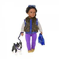 Кукла Илисса и собачка терьер Индиана (15 см), Lori (LO31016Z)