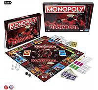 Monopoly Монополия Настольная игра Marvel Deadpool Edition Дедпул дэдпул
