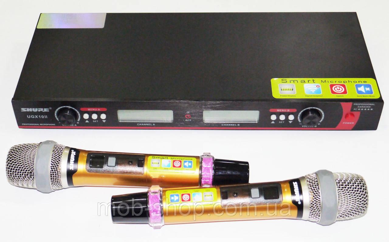 База 2 радіомікрофона Радіосистема Shure DM UGX10II