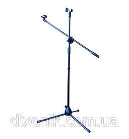 """Стійка мікрофонна підлогова """"журавель"""" естрадний тримач мікрофона"""