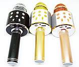 Беспроводной микрофон для караоке Wester WS-858 с динамиком и Bluetooth, фото 4