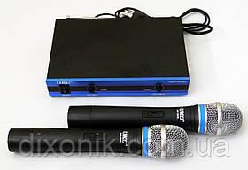 Мікрофонна радіосистема UKC UWP-200XL 2 радіо мікрофона з базою
