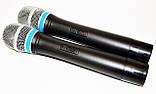 База 2 радиомикрофона Радиосистема DM EW 100, фото 3