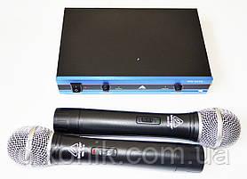 Мощная радиосистема Behringer WM-501R 2 радио микрофона с базой