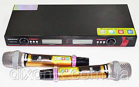 Профессиональная радио система Shure DM UGX10II 2 радиомикрофона с базой