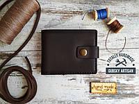 """Кошелек мужской портмоне c монетницей  """"Boss"""" 100% handmade, фото 1"""