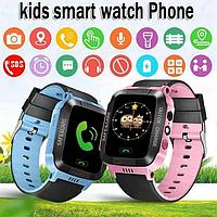 Смарт-часы GPS Smart KIDS Watch Blue.100% оригинальное качество.