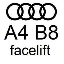 A4 B8 facelift 2012-2015