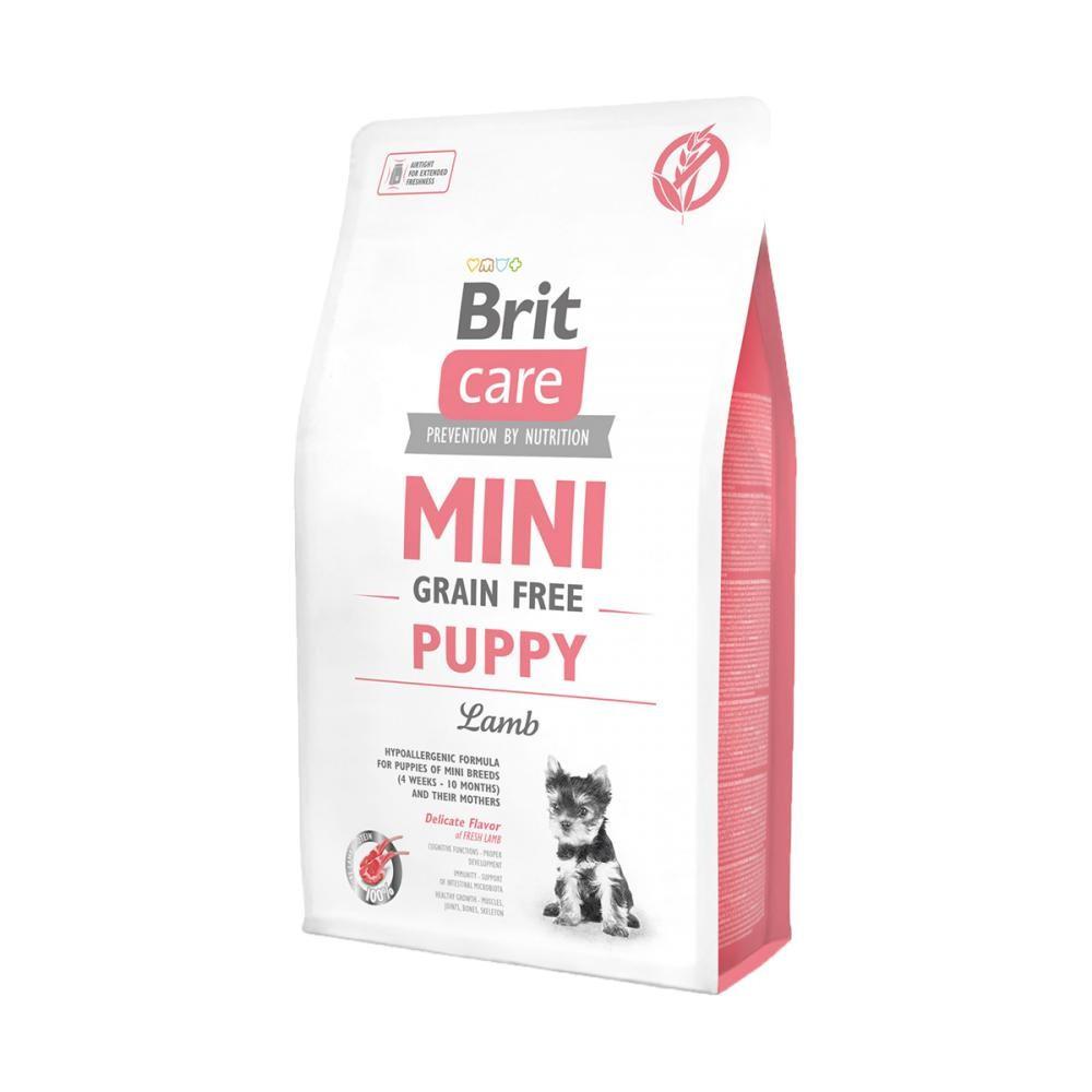 Корм для собак дрібних порід Brit Care Mini Puppy Lamb 7кг