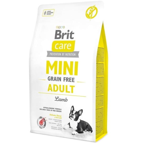 Корм для собак дрібних порід Brit Care Adult Mini Lamb 2кг