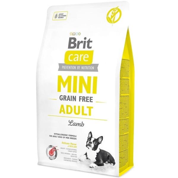 Корм для собак дрібних порід Brit Care Adult Mini Lamb 7кг