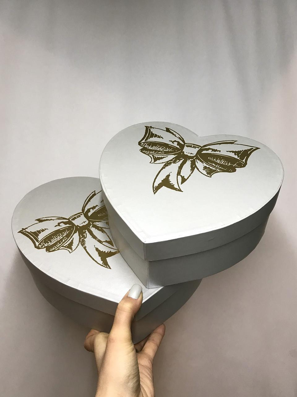 Сердце двойное с крышкой (тис)