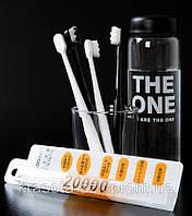 Японская сверхтонкая зубная щетка LOOMEN для чувствительных десен, (микро-нано) с 20000 щетинок