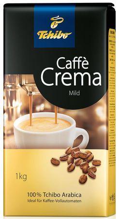Кофе TCHIBO Caffe Crema Milder в зернах 1000 г