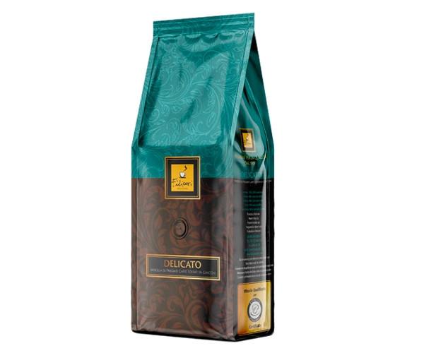 Кофе Filicori Zeсchini Gran CREMA DELICATO в зернах 1 кг