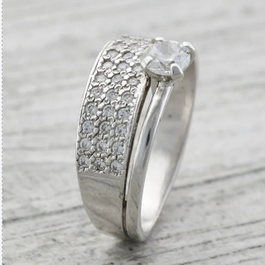 Серебряные кольца без покрытия