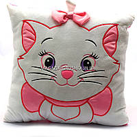 Подушка детская для ребенка Копиця «Кошечка», 35х35х10 см (00235-345)