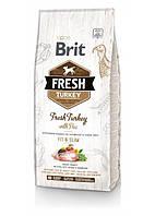 Корм для собак Brit Fresh Turkey/Pea Light Fit & Slim Adult (для взрослых собак) 2,5кг