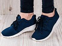 Кросовки синие женские оптом