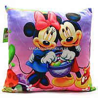 Подушка детская Копиця «Микки Маус» 43х43х10 см (24970-1)