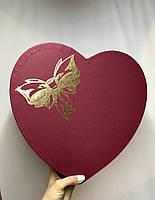 Сердце тройное с крышкой (тис)