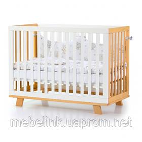 Кроватка Верес Манхэттен (цвет: бело-буковый)