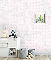 Панно Диснеевские принцессы в детскую комнату дизайнерское Princess and Frog 150 см х 100 см