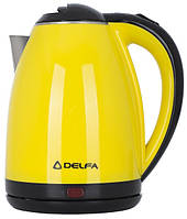 Электрочайник DELFA DK-3500X Yellow