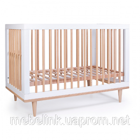 Кроватка Верес Нью Йорк (цвет: бело-буковый)