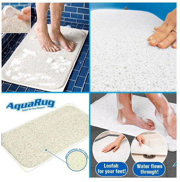 Коврик для ванной | Впитывающий антискользящий коврик для ванной комнаты Aqua Rug