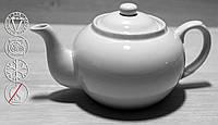 Чайник Заварочный Фарфоровый Белый 900мл (HR1502)
