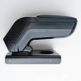 Підлокітник Armcik s4 з зсувною кришкою і регульованим нахилом для Audi A3 8P 2003-2012, фото 9