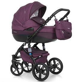Дитяча універсальна коляска 3 в 1 Riko Brano Natural 03 Purple