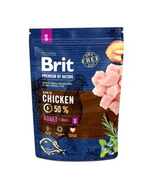 Корм для собак Brit Premium Dog Adult S 1кг