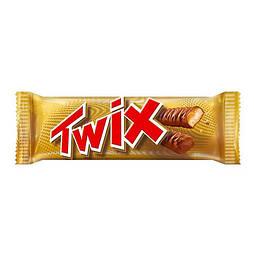 Твикс / Twix шоколадный батончик 50гр/32шт