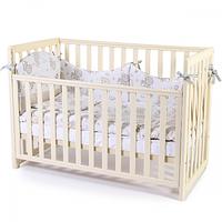Кроватка Верес Соня ЛД13 без ящика (цвет: слоновая кость) съемные спицы, фото 1